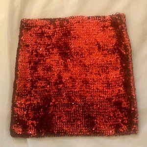 New sequin  mini skirt(accepting offers)